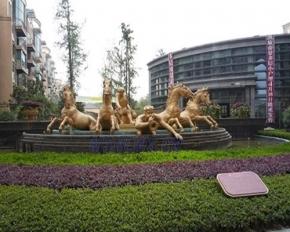 四川乐山时代广场