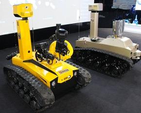智能消防机器人